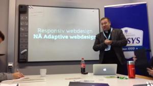 Responsiv webdesign – NÄ ADAPTIVE WEBDESIGN