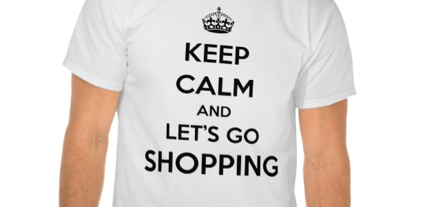 Keep calm and let's go shopping
