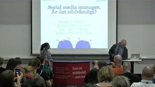 Behövs det en social media manager?